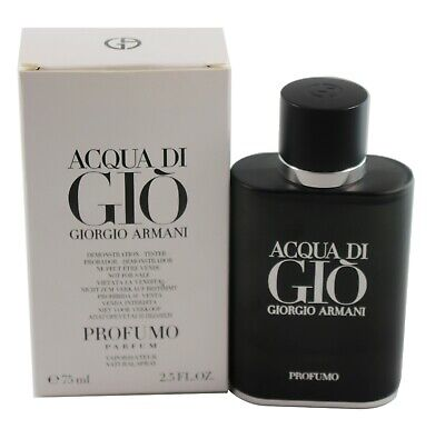 Acqua Di Gio Profumo by Giorgio Armani Tster Edp Spray 2.5 oz/75 ml For Men Tste
