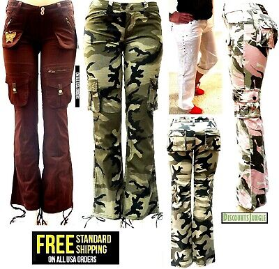 BLUE POINTE JEANS Juniors Womens Stretch premium Camouflage