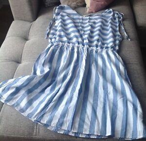 Women's stripped summer dress