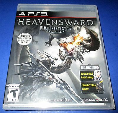 Final Fantasy Xiv Online  Heavensward Sony Playstation 3  New   Free Ship