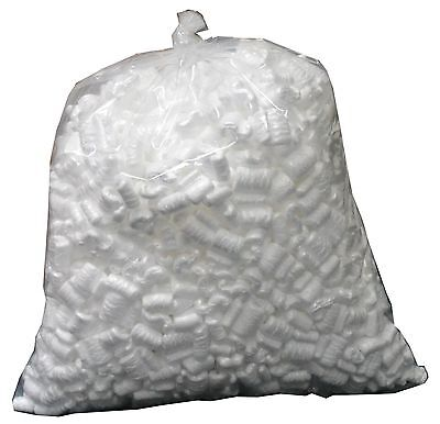 1 Bag Packing Peanuts 1.5 Cubic Feet 11 Gallons- Free Shipping