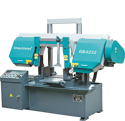 Horizontal Double Dual Column Band Saw Machine Metal Cutting Bandsaw 12-12