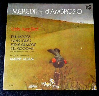 MEREDITH D'AMBROSIO-LITTLE JAZZ BIRD-PA 8019-1982-SEALED LP