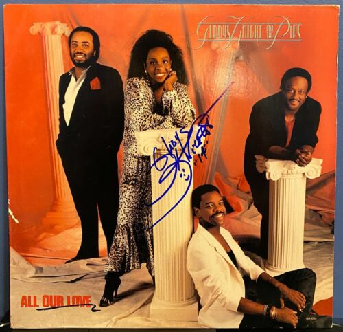 """Gladys Knight signed All Our Love 12"""" LP"""
