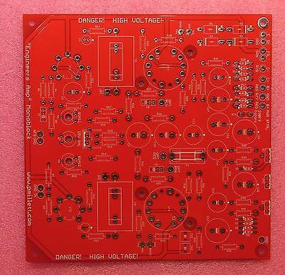 "DIY PCB - 50 watt monoblock "" Engineer's Amplifier"" tube amp"