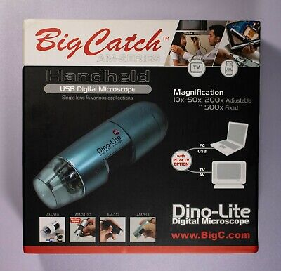 Big Catch Am-series Handheld Usb Digital Microscope Am413t Itemj6820