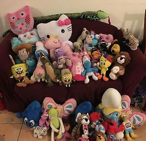 Soft toys mixed lot Coomera Gold Coast North Preview