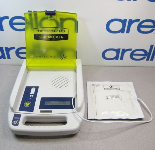 CARDIAC SCIENCE AED TRAINER Training System /Teaching Device w/Pads 180-3011-002