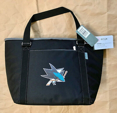San Jose Sharks insulated soft cooler tote bag, Picnic Time...