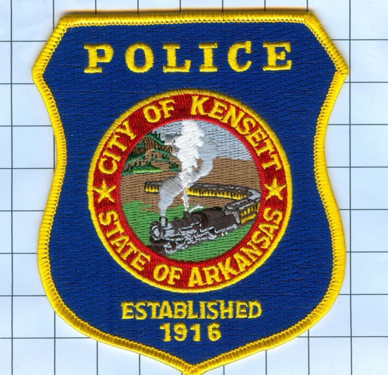Police Patch  - Arkansas - City of Kensett 1916