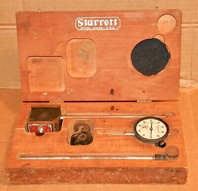 Vintage The L.s. Starrett 25-441 No.657 Magnet Base Surface Gage As Is For Parts