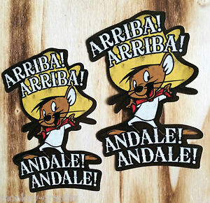 Andale! Speedy Gonzales Kult oldschool Aufkleber Sticker Comic US Cars JDM V8 V2
