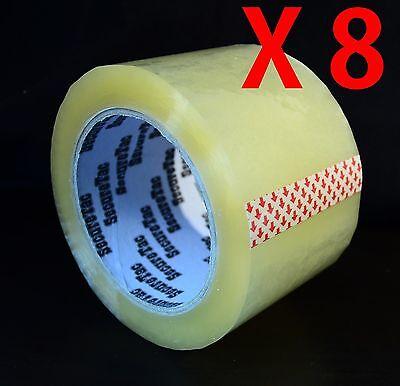 3x110 Yard330 Packing Box Carton Packaging Sealing Clear Duck Tape 8 Rolls