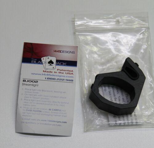BlackJack Fire Helmet Mount BJ002 Flashlight Holder