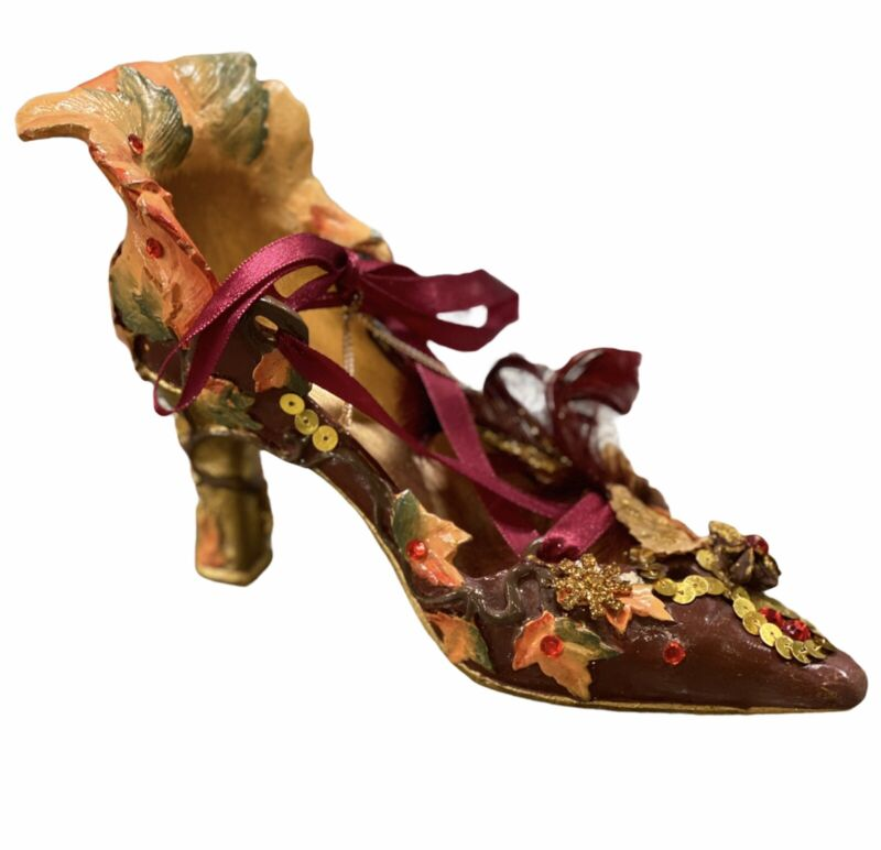 Vintage Katherines Collections Ornate High Heel Shoe Christmas Ornament