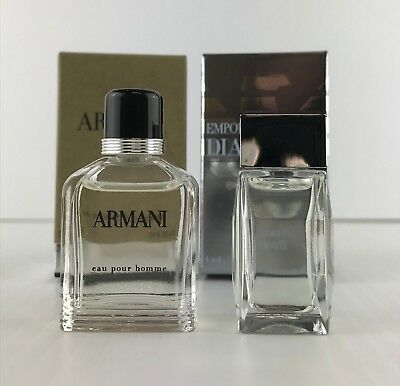 Emporio Armani DIAMONDS & ARMANI EAU POUR HOMME MINIATURE AS SHOWN
