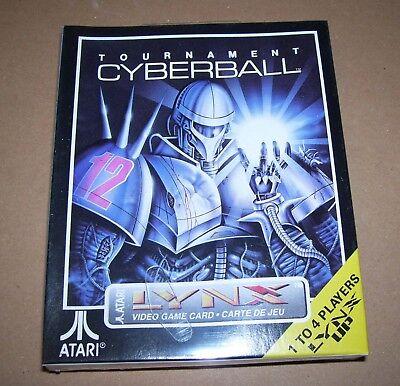 Atari Lince Juego Consola Portátil Cartucho Torneo Cyberball Nuevo Caja Sellado