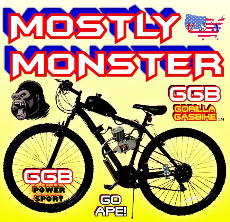 COMPLETE DIY 66cc/80cc 2-STROKE MOTORIZED BIKE KIT AND MT BIKE MULTISPEED