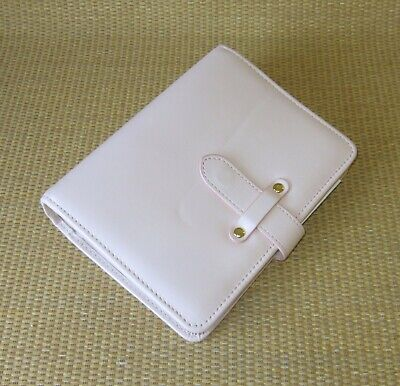 Compact Franklin Covey New Blush Leather Bella 1.25 Rings Plannerbinder