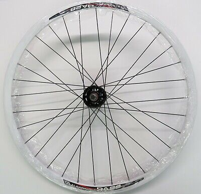 """26/"""" Alloy Front Wheel 12G Heavy Duty Spokes BLK SILVER BLUE WHITE PPL RED GOLD"""