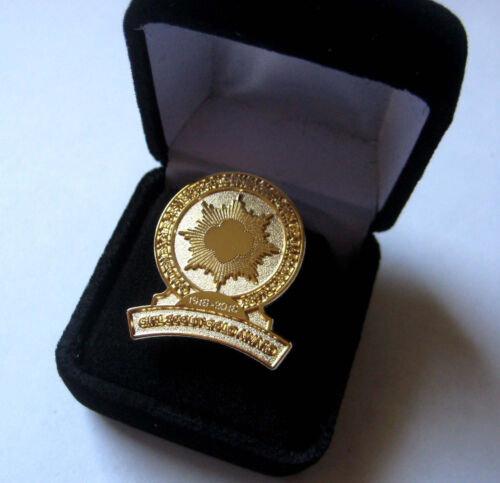 Girl Scout GOLD AWARD 100th ANNIVERSARY PIN Golden Eaglet Centennial Jewelry WOW
