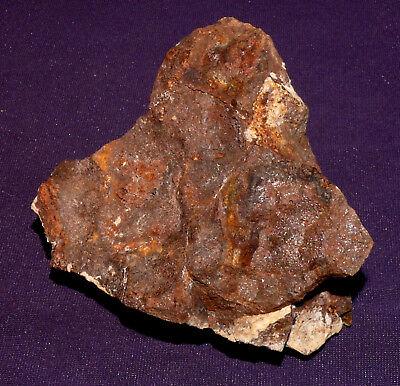 Stein-Meteorit Dhofar 2063 Heilstein Sternschnuppe 72x67x44mm 210,6g 陨石