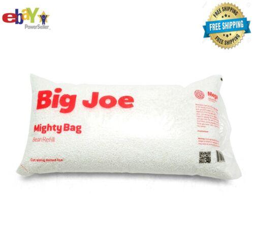 Big Joe Comfort Research Megahh UltimaX Bean Bags Refill, 100 L, White NEW US