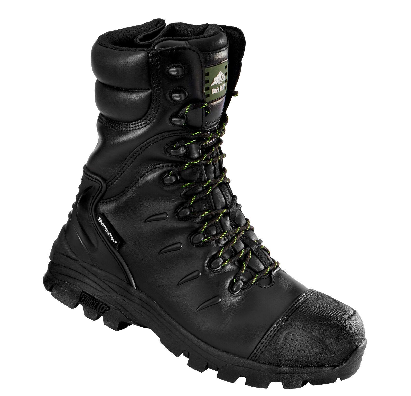 9c3953b48a1 Rock Fall Monzonite Black S3 M HRO SRC Composite Toe Cap Waterproof Safety  Boots