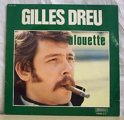 (33 tours Gilles ANY GEAR ON Vinyl Record LP 12