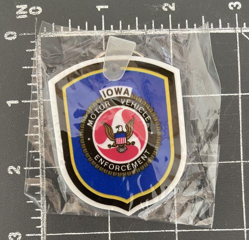 Iowa Motor Vehicle Enforcement Highway Patrol Police DMV IA MVE Keychain State