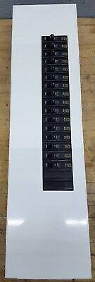 Square D Nqm Panelboard 100a W Dw-8068 Breakers Type Qob 120240v
