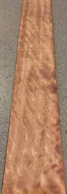 Figured Bubinga Wood Veneer 7 Sheets 38 X 6 11 Sq Ft