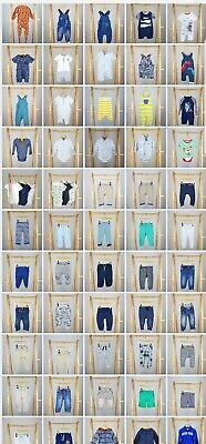 9-12 months Baby boy clothes Multi Listing Outfits Tops Sets Build Your Bundle