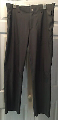 Nike Golf Tiger Woods Lightweight Adaptive Fit Woven Pants Stretch Vented 36x30