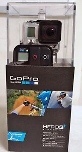 GoPro Hero3+ Plus Black Edition 1080P HD Camcorder Camera CHDHX-302  Hero 3 +