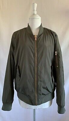 Ci Sono Original Olive Green Bomber Jacket Size Large