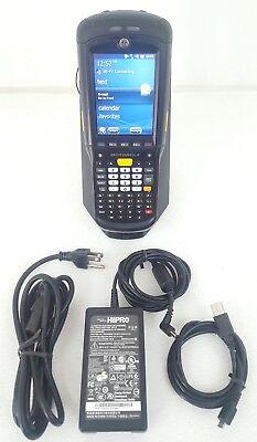 Excellent Motorola Mc9598-k Rugged Mobile Computer Barcode Scanner Bundle