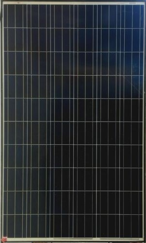 Used 250W 60 Cell Poly Solar Panels 250 Watts White Label