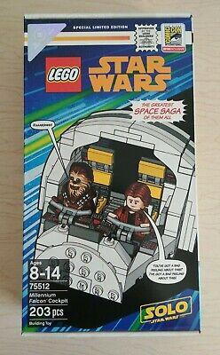 SDCC 2018 Exclusive Lego Star Wars Millennium Falcon Cockpit (75512) #1953/3000