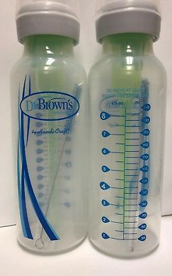 Dr. Brown's Options Baby Bottles, 2 Pack, clear, 8 ounce New