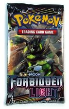 Pokemon TCG Sun & Moon Forbidden Light, 1 Single Loose Booster Pack New