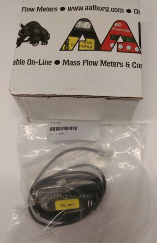 NEW Aalborg 17/R Mass Flow LCD Screen Readout w/ 3ft Cable 10L/min