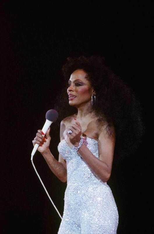 Diana Ross In Concert 8x10 Photo Print