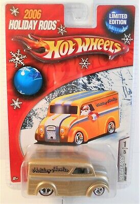 2006 HOT WHEELS HOLIDAY RODS GOLD VARIATION DAIRY DELIVERY