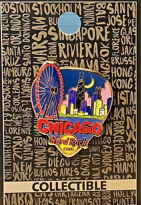 Hard Rock Cafe Chicago Core Greetings From Series Pin 2017 HRC LE NEW # 95520