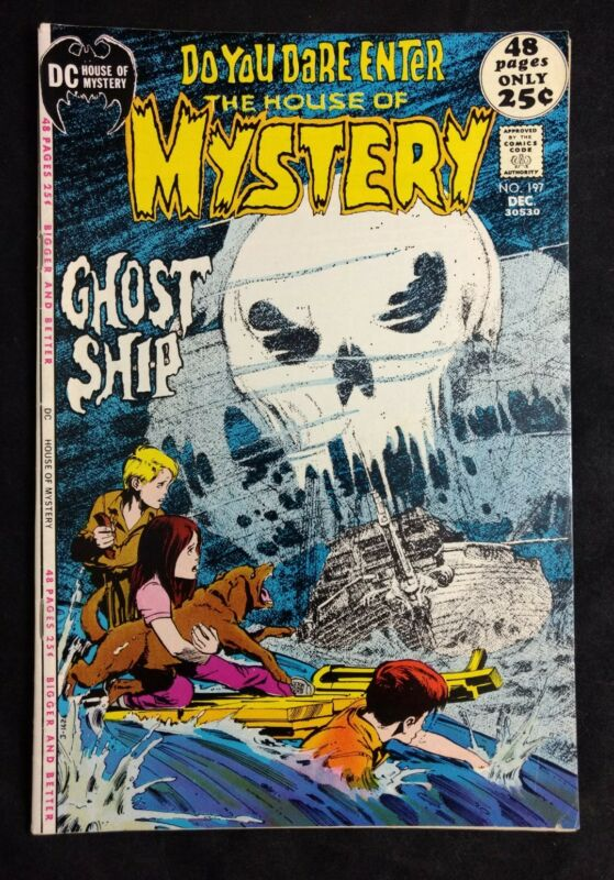 The House of Mystery #197 DC Comics 1971