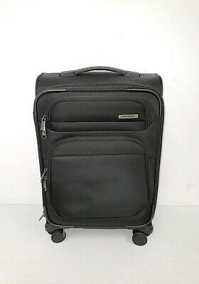 "Samsonite Epsilon 22"" Carry On Spinner Luggage Black"