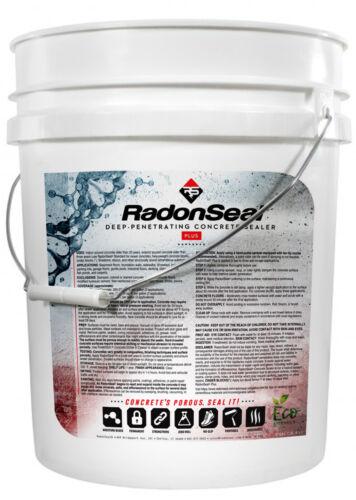 RadonSeal Plus Penetrating Concrete Sealer (5-gal) - Basement Concrete Sealer