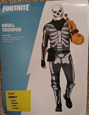 Epic Halloween-kostüm (Fortnite Skull Trooper Adult Large Halloween Costume Spirit Halloween Epic Games)