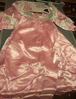Children Civil War Era Dress Costume Medium Pink